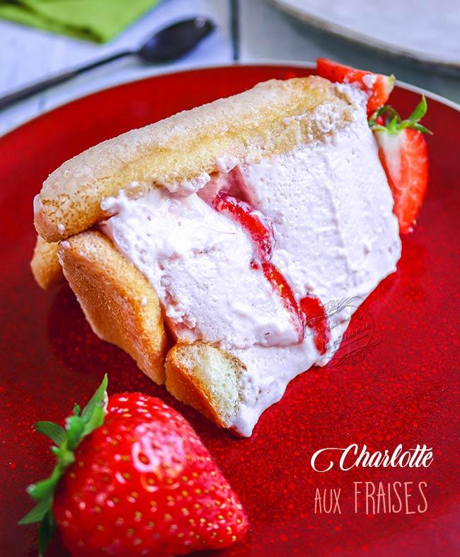 charlotte au fraise meilleure recette