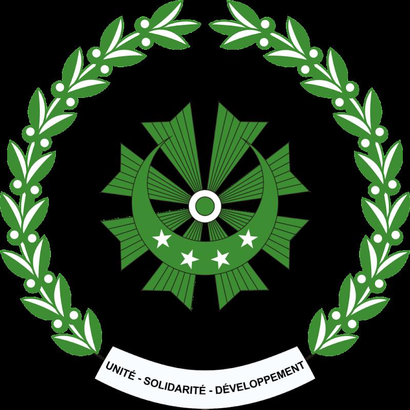 Logo Gambar Lambang Simbol Negara Komoro PNG JPG ukuran 800 px