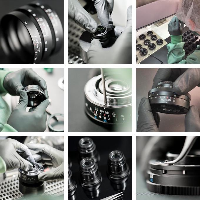 Производство оптики на предприятии Meyer-Optik-Görlitz
