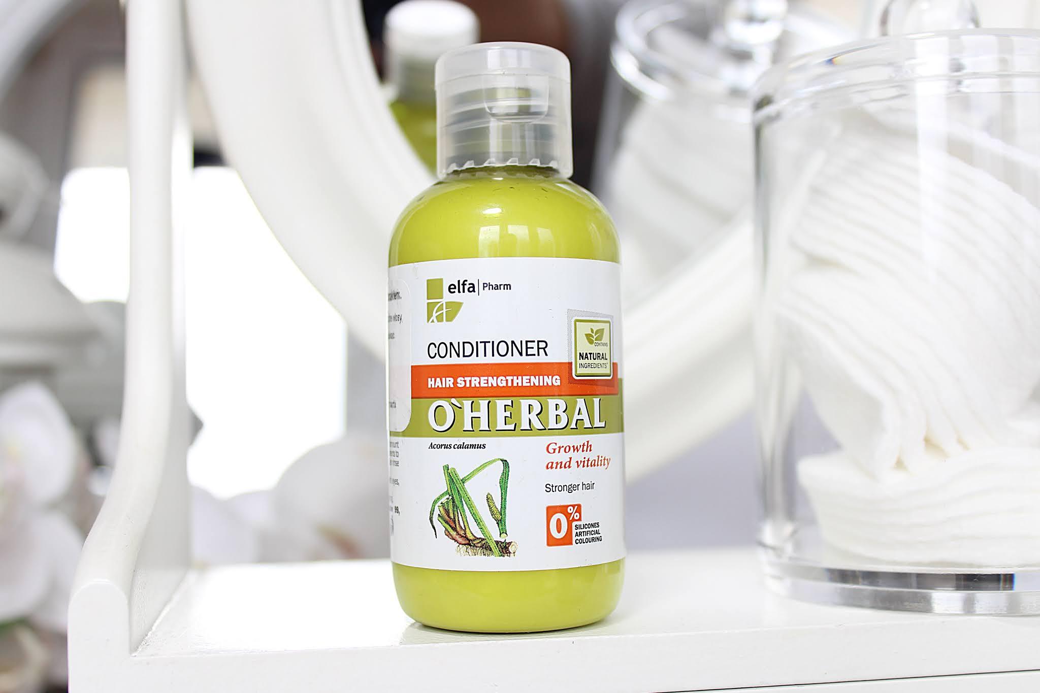 Elfa Pharm O'HERBAL szampon i odżywka z tatarakiem