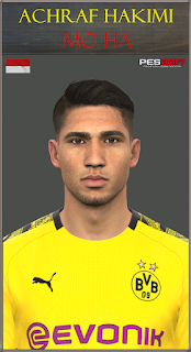 PES 2017 Faces Achraf Hakimi by Mo Ha