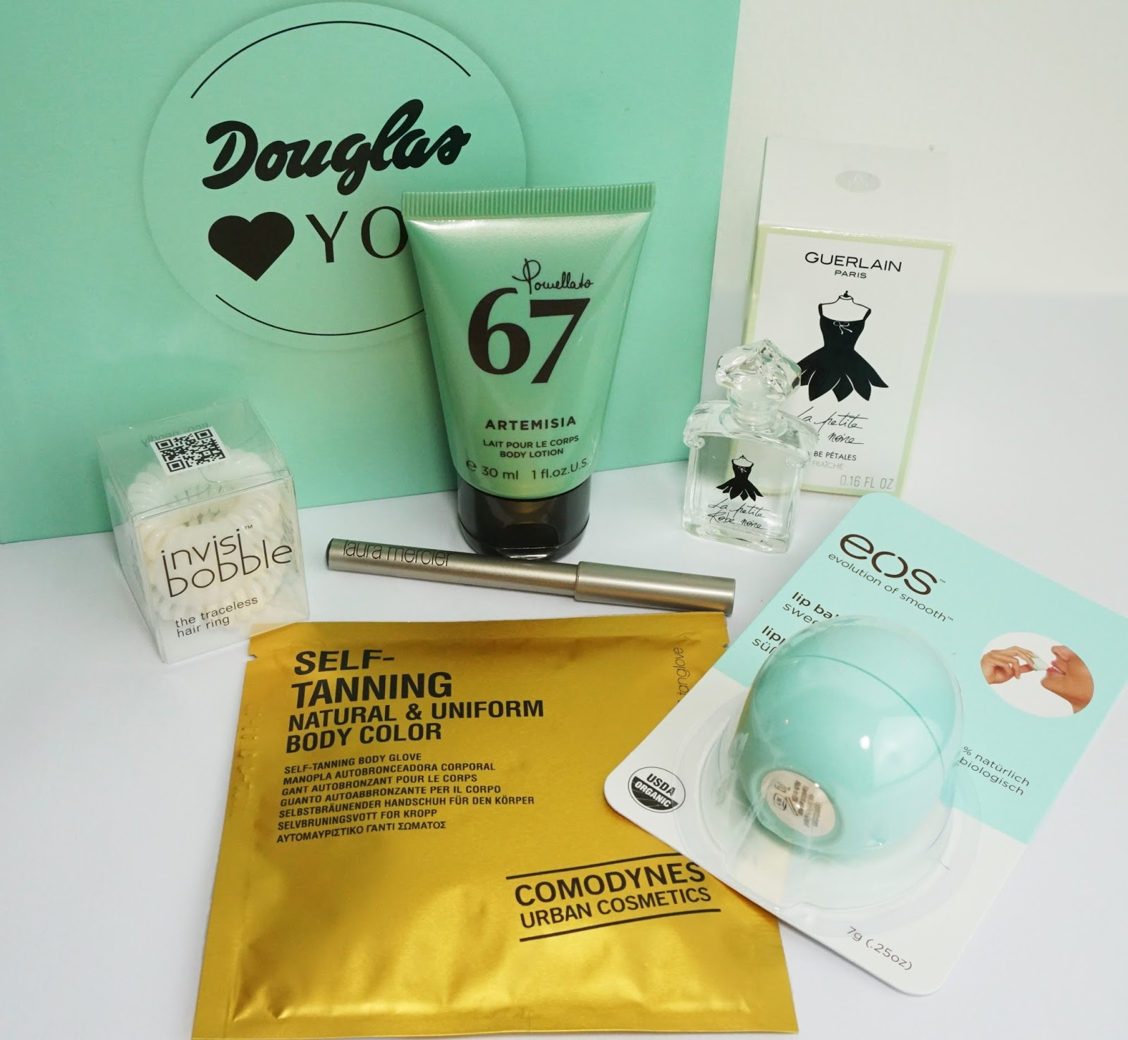 Douglas - Box of Beauty (April 2015 - Österreich-Edition) eos, guerlain, invisibobble