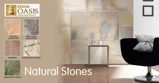 6 Benefits of Using Stones in Interior and Exterior of Building ~ Natural Stone Cobbles | Limestone suppliers and manufacturers