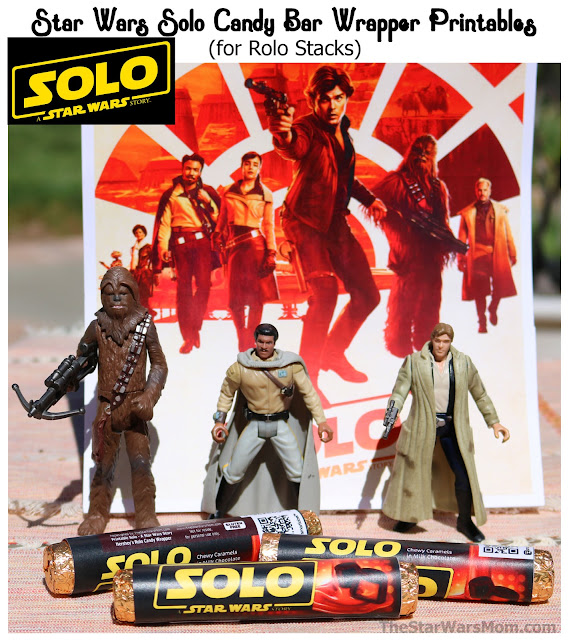 Solo: A Printable Star Wars Candy Bar Wrapper for Hershey's Rolo