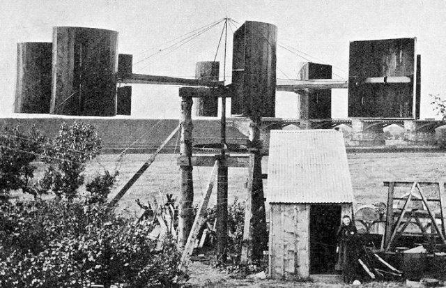 O primeiro gerador eólico de James Blyth