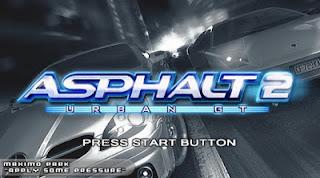 Game Asphalt Urban GT2 ISO PPSSPP Download