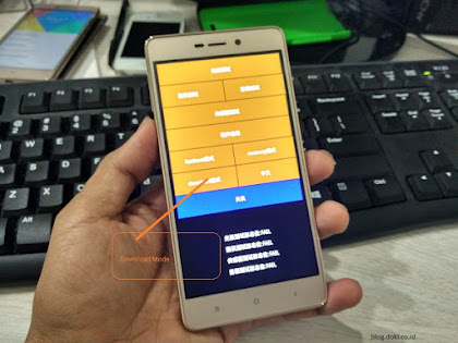 Cara Flashing Xiaomi Redmi 3