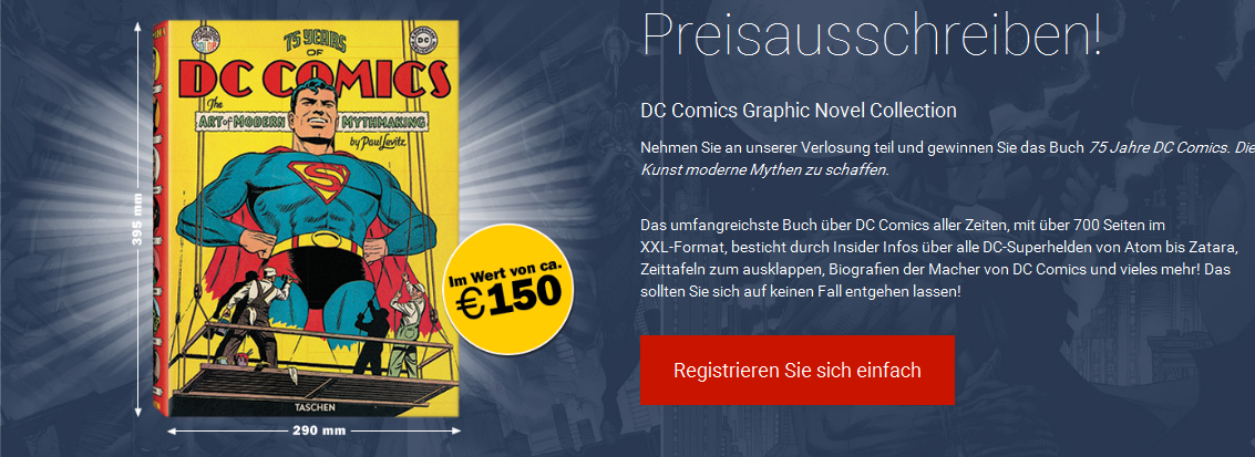 GRAPHIC NOVEL VERLOSUNG
