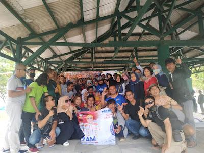 Dokter Zam Dorong Para Relawan untuk Tetap Solid dan Kompak