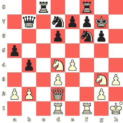 Les Blancs jouent et matent en 4 coups - Sergei Movsesian vs Jan Vokoun, Pardubice, 2018
