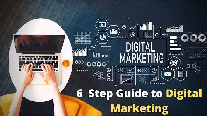 Learn Digital Marketing in 6 steps in 2021