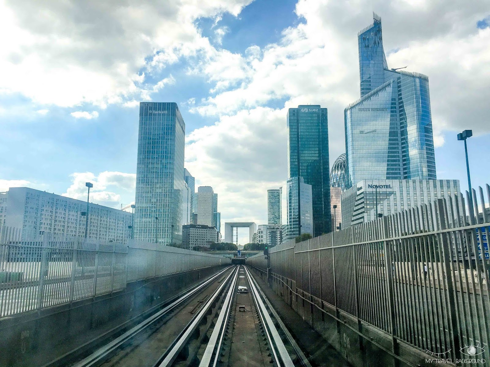 My Travel Background : Paris Promenade La Défense - Metro ligne 1, tour First