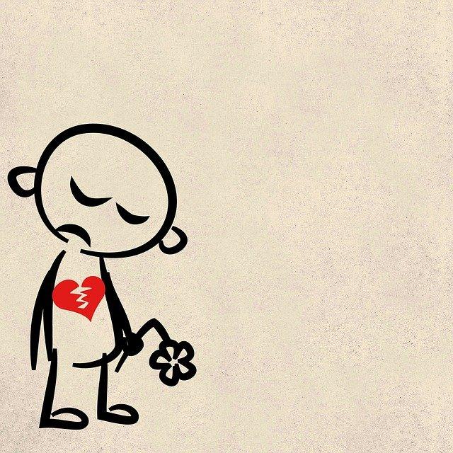 Gambar patah hati