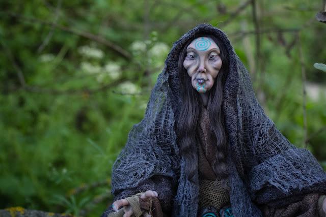 Fantasy creature fairy lady elven runes