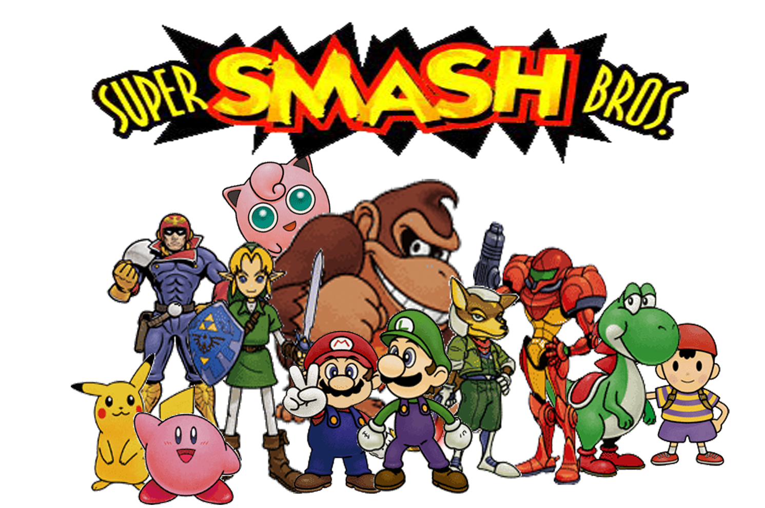The Super Mario Brony Blog: Super Smash Bros. (64) - Top Ten Music ...