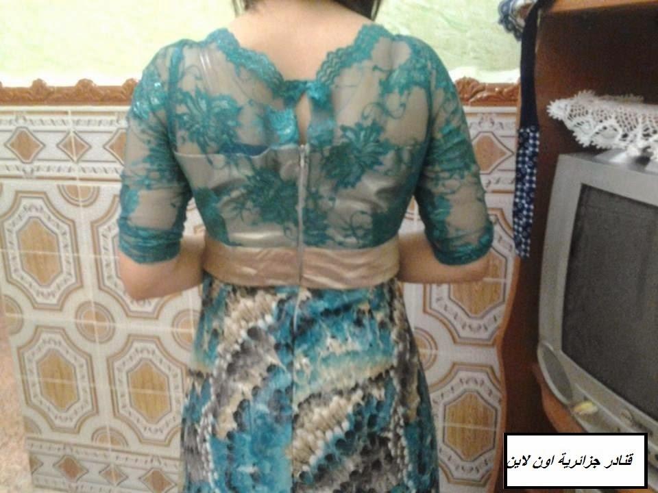 2d1302c0b77e0 اجمل موديلات فساتين جزائرية للفتيات 2016 للبيت والاعراس 10