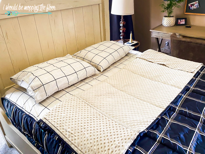 Minky-Lined Bedding