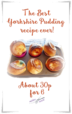 gorgeous easy to make cheap homemade yorkshire puddings
