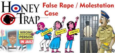 false allegations law, private detective mumbai, false rape allegations, false molestation, false pocso