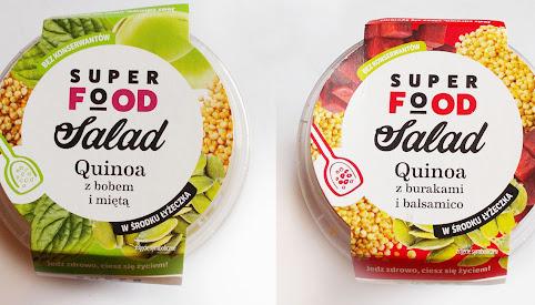 Sałatka z kaszą quinoa, Contimax