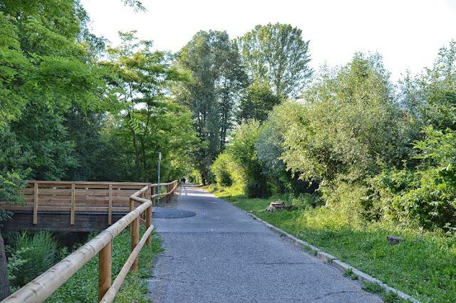 itinerari in bici valsugana trentino