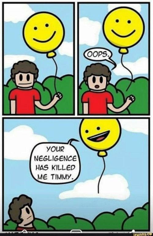 Negligence Meme