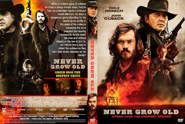 Never Grow Old DVD Cover