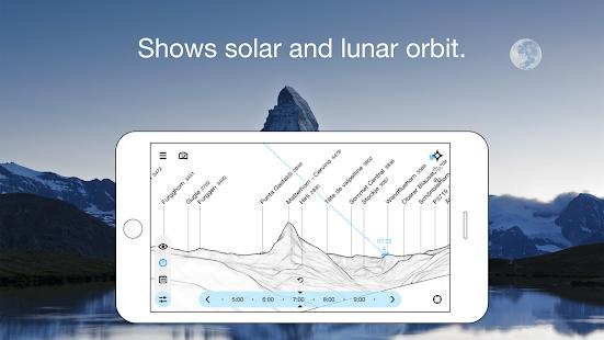 Peakfinder, aplikasi, pendaki