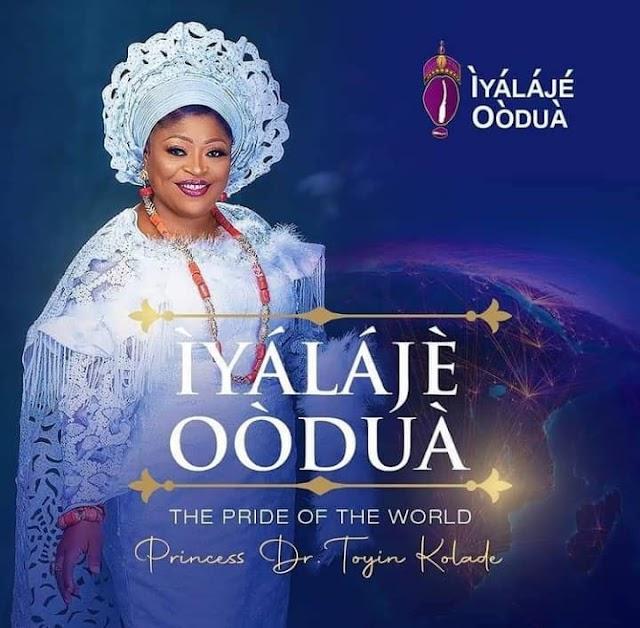 Iyalaje Oodua, Princess Toyin Kolade Celebrates Late Mother's Remembrance, 97th Posthumous Birthday