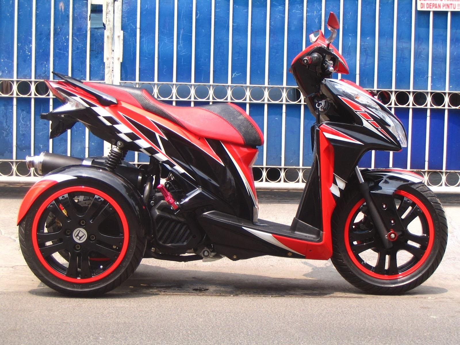 5 Variasi Motor Honda Vario Techno 125  Variasi Motor
