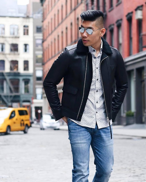 Winter Style Roundup for Men - All Saints Jacket Leo Chan