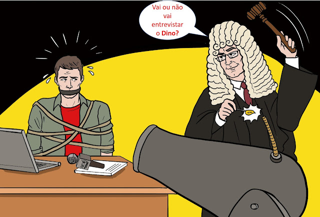 Juiz do TRE-MA expede tutela inibitória com conteúdo revelador de censura judicial e obriga jornalistas a atender vontade do pré-candidato Flávio Dino