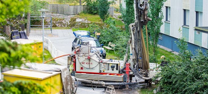 Switzerland relies the most on geothermal energy for residential heating