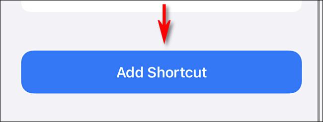 """اضغط على """"إضافة اختصار"""""""