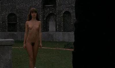 Nastassja Kinski en una secuencia muy explicita.