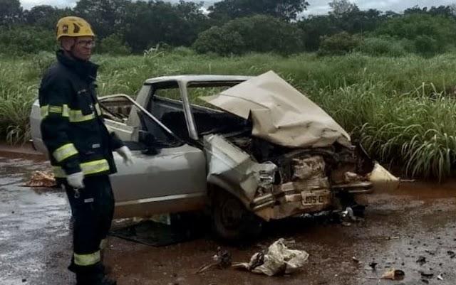 Cidade Ocidental: Um morto e quatro feridos em acidente na GO-521