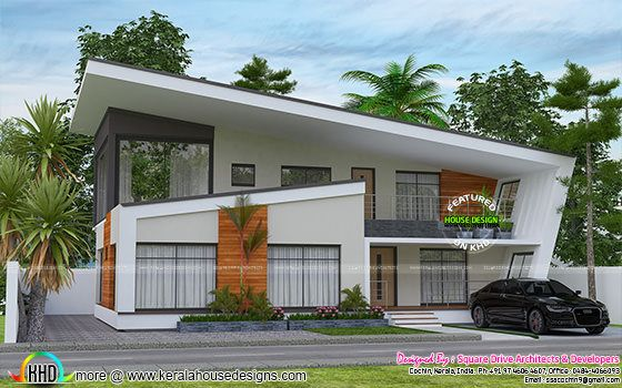 2732 sq-ft ultra modern contemporary home