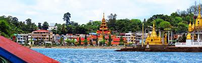 Kawthaung Myanmar Waterfront