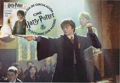 Tarjeta, Harry Potter