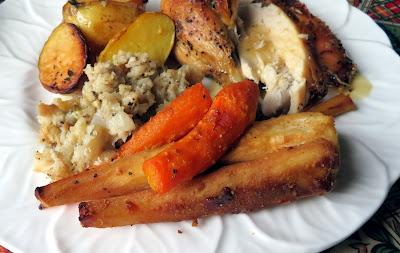 Honey Mustard Roasted Parsnips & Carrots
