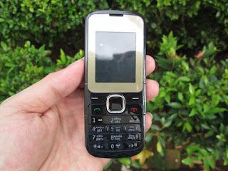 Hape Jadul Nokia C2-00 Seken Dual SIM Phonebook 1000 Slot MicroSD