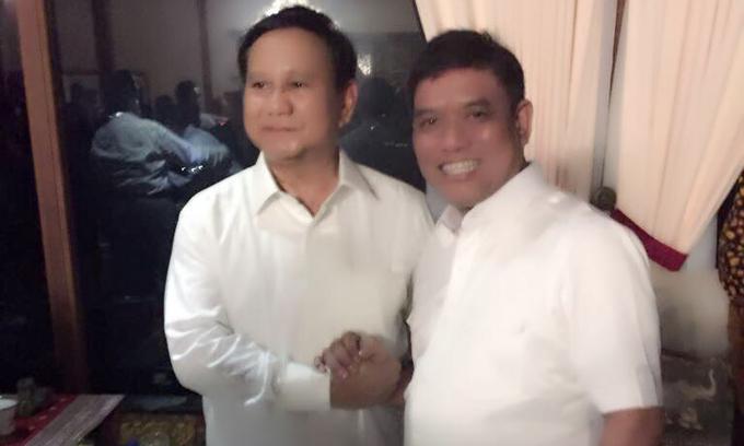 Bro Rivai Dipanggil Khusus ke Hambalang, Sinyal Dukungan Prabowo?