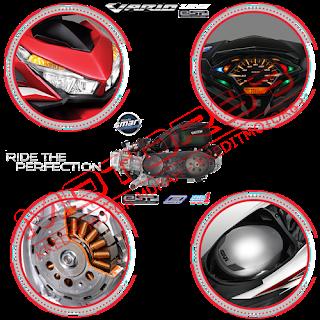 Fitur dan Spesifikasi Honda Vario 125 eSP CBS ISS FI