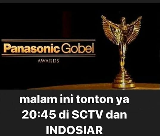 Live streaming Panasonic Gobel Awards 2019
