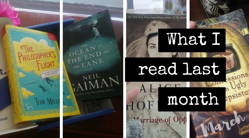 6 Books I Read Last Month in March