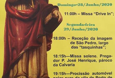 Festa de São Pedro 2020