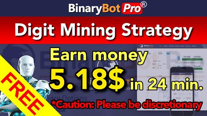 Digit Mining Strategy | Binary Bot Pro