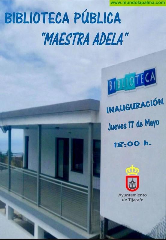 "Tijarafe inaugura la Biblioteca Pública ""Maestra Adela"""