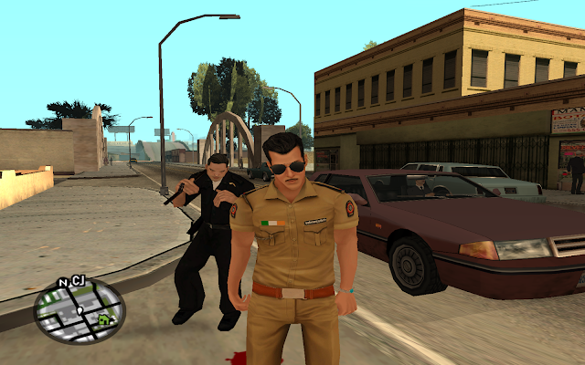 GTA San ChullBull Pandey Salman Khan Skin Pack Download
