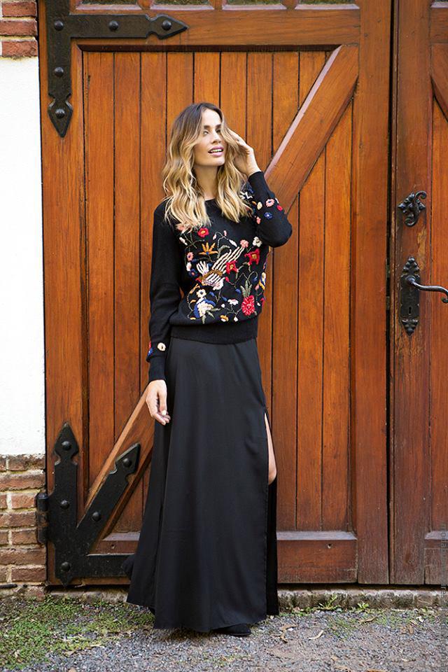 Moda 2016 invierno 2016 moda Milana Sweaters.